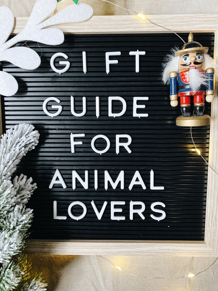 Gift Guide For Animal Lovers