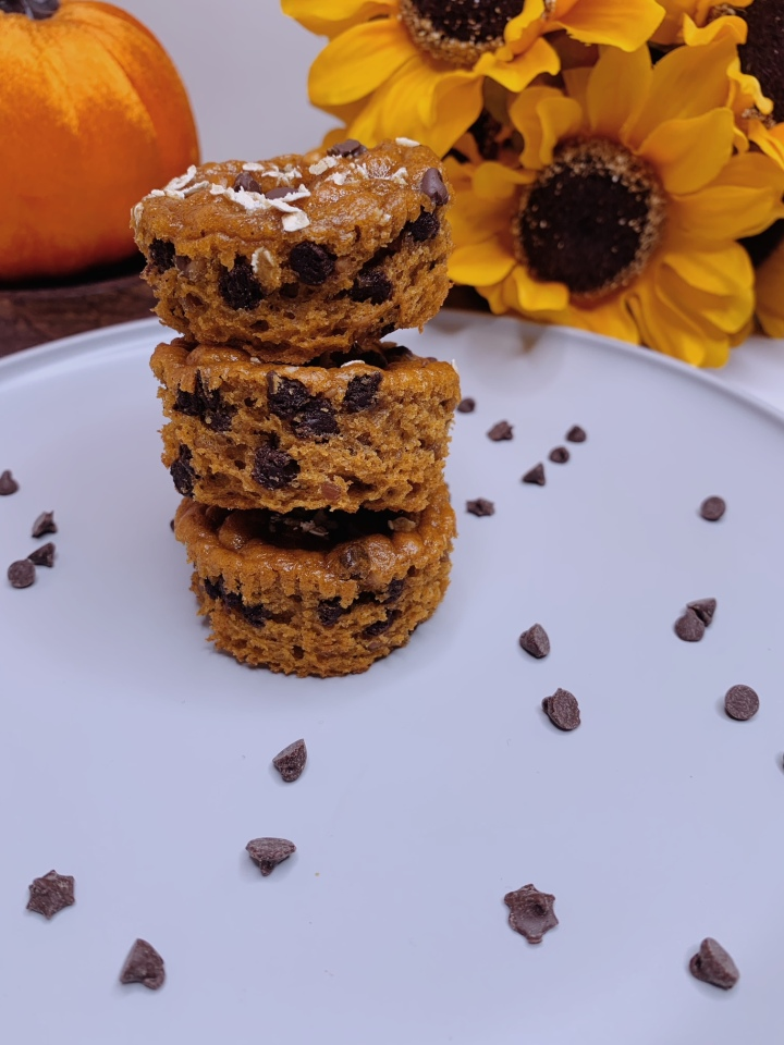 TikTok Flour-Less PumpkinMuffins